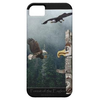 Örnar & konst för HaidaTotemPole inföding iPhone 5 Case-Mate Skal