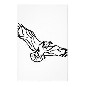 Örnar skisserar brevpapper