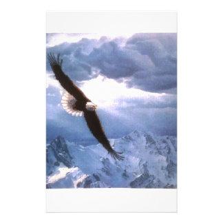 Örnen rider ut stormen brevpapper