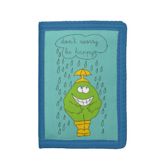Oroa inte är den lyckliga roliga varelsen regnar