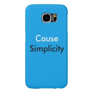 Orsaka fodral för den enkelhetsSamsung galaxen S6 Galaxy S5 Fodral