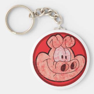 Orson grisen Keychain Rund Nyckelring
