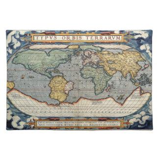 Ortelius kartbok bordstablett