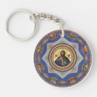 ortodox saint för religion för symbolsgudkyrka