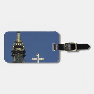 Ortodoxa kristenkyrkakupoler bagagebricka