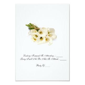 """OSA kort - liljar för bröllopinbjudan""""Calla 8,9 X 12,7 Cm Inbjudningskort"""