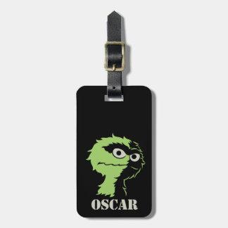 Oscar den halva grinigheten bagagebricka
