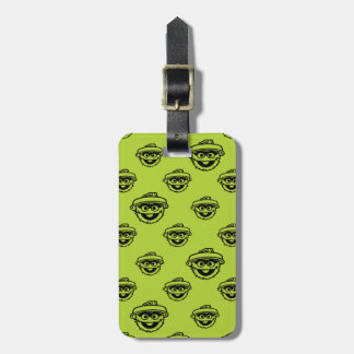 Oscar grinighetgröntmönster bagagebricka
