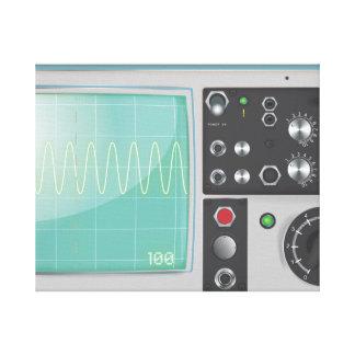Oscilloskop Canvastryck