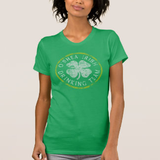 O'Shea irländskt dricka lag Tshirts