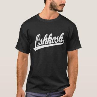 Oshkosh skrivar logotypen i vit t-shirts