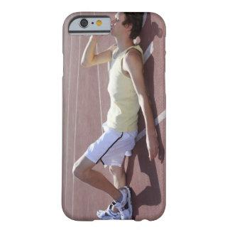 OSidrottsman som 2012 dricker efter tävling Barely There iPhone 6 Skal