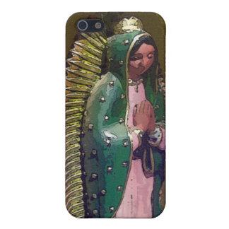 Oskuld av fodral för Guadalupe iPhone 5 iPhone 5 Cover