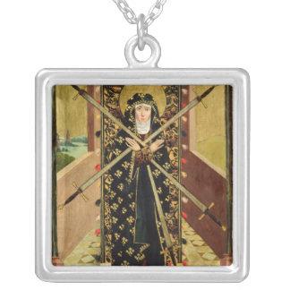 Oskuld av sju sorger från kupolaltaret, 1499 silverpläterat halsband