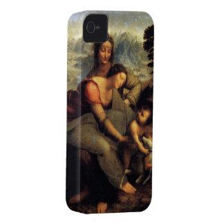 Oskuld & barn med St Anne & lamben iPhone 4 Fodral