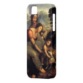 Oskuld & barn med St Anne & lamben iPhone 5 Case-Mate Fodral