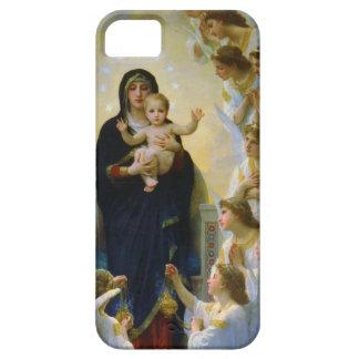 Oskuld med änglarBouguereau konst iPhone 5 Skal