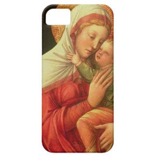 Oskuld och barn, c.1465 (olja på panel) iPhone 5 Case-Mate skydd