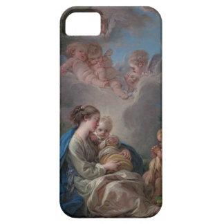 Oskuld och barn - François Boucher iPhone 5 Skydd