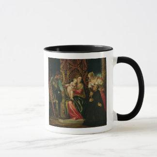 Oskuld och barn med en Benedictinemunk Mugg