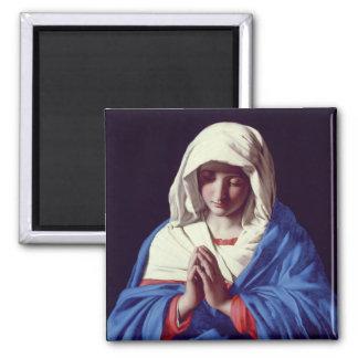 Oskulden i bön, 1640-50 (olja på kanfas) magnet