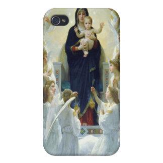 Oskulden med änglar, William Bouguereau iPhone 4 Skydd