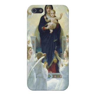 Oskulden med änglar, William Bouguereau iPhone 5 Skal