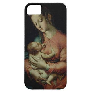 Oskulden och barnet (olja på panel) iPhone 5 Case-Mate fodral