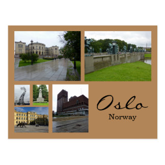 Oslo Collage 1 Vykort