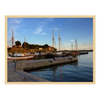 Oslo hamn vykort