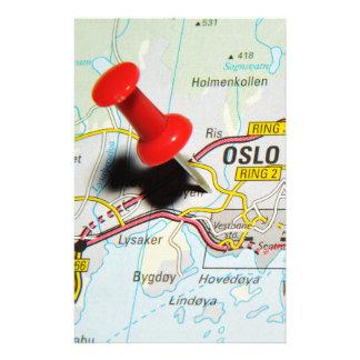 Oslo norge brevpapper