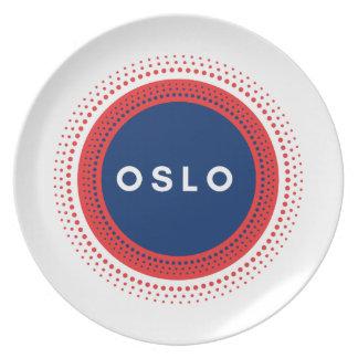 Oslo norge tallrik