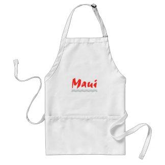 ÖsolnedgångT-tröja - ösolnedgång grafiska Maui Förkläde