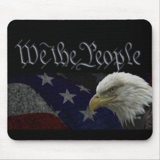 Oss det patriotiska folket mus mattor