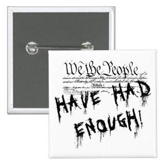Oss folket!!. Den politiska protesten knäppas Knapp