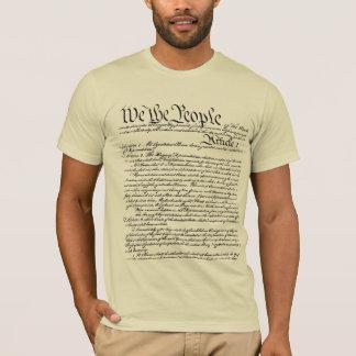 Oss folket konstitutionT-tröja (som göras i USA) T Shirts