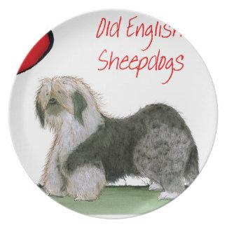 oss gammala engelska sheepdogs för luv, Tony Tallrik