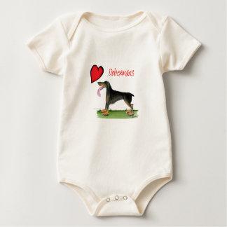 oss luvdobermans från Tony Fernandes Body För Baby