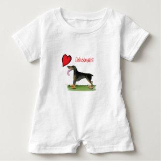 oss luvdobermans från Tony Fernandes T-shirts