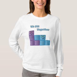 Oss passform tillsammans! tröja