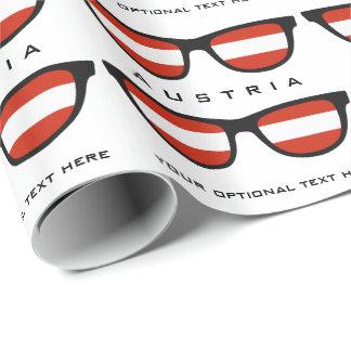 Österrikare skuggar den beställnings- text- & presentpapper