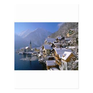 Österrike Alpes Vykort