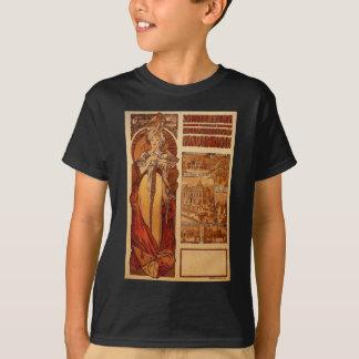 Österrike av Alphonse Mucha T Shirts