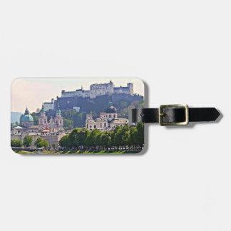 Österrike bagagemärkre - Salzburg Bagagebricka