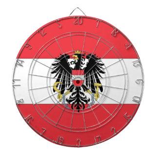 Österrike flagga darttavla
