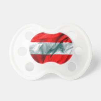 Österrike flagga napp