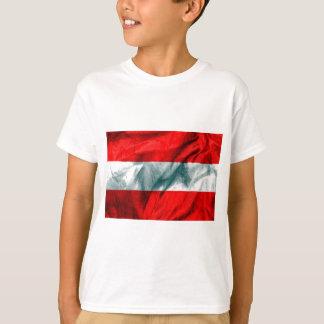 Österrike flagga t-shirt