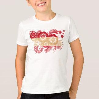 Österrike flagga t-shirts