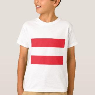 Österrike flagga tshirts