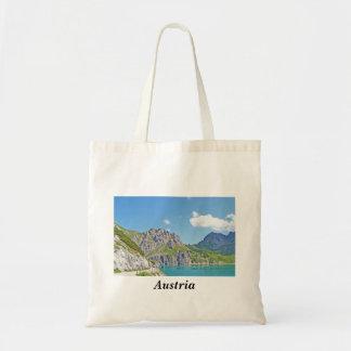 Österrike - souvenir hänger lös tygkasse